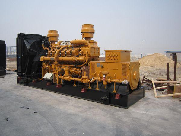 2 sets 500kw gas generators exported to Venezuela
