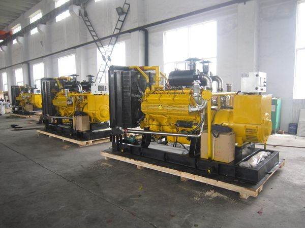 3 sets 200kw gas generators exported to Bolivia