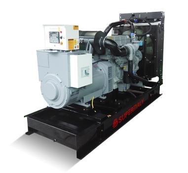 Generator Powered by Perkins Engine