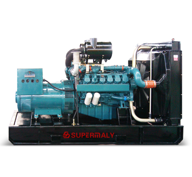 Generator Powered by Doosan Engine